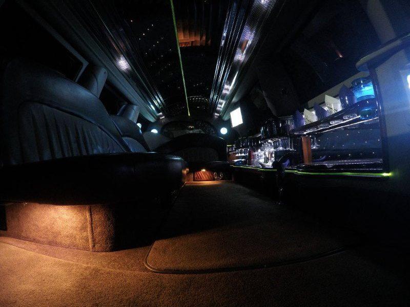 limo suv inside