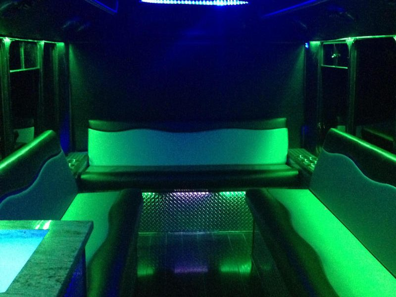 15pax partybus inside