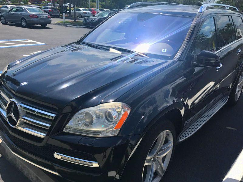 luxury black SUV mercedes