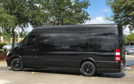 mercedes sprinter corporate limo naples bus