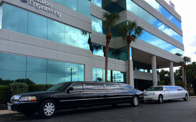 corporate limo shuttle business