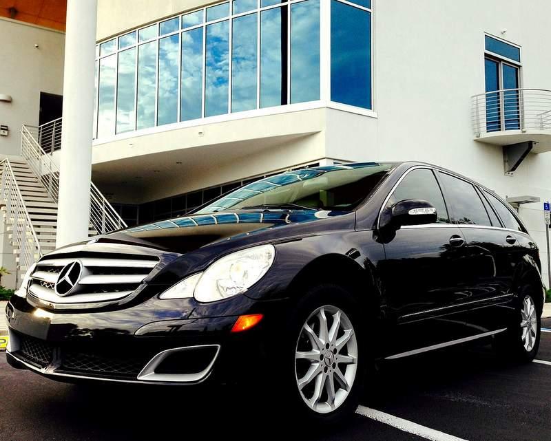 Mercedes R500 luxury